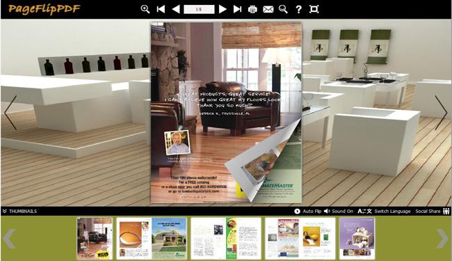 Windows 7 eFlip PDF to Flash Magazine 1.0 full