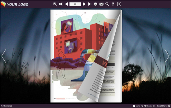 Indesign to flipbook converter help you create beautiful