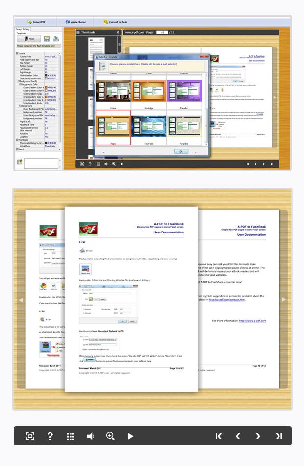 Convert PDF to 3D Flash Catalogs eBook