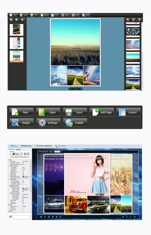 Windows 7 Photo to FlashBook 3.2 full
