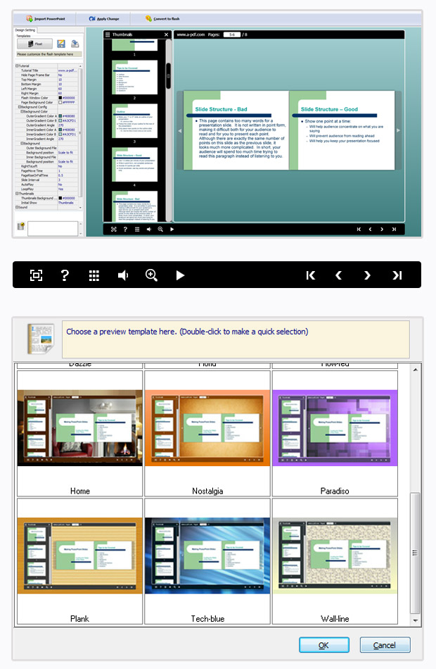 PPT to FlashBook screenshot